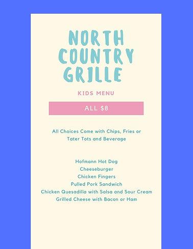 North Country Grille Kids Menu.jpg