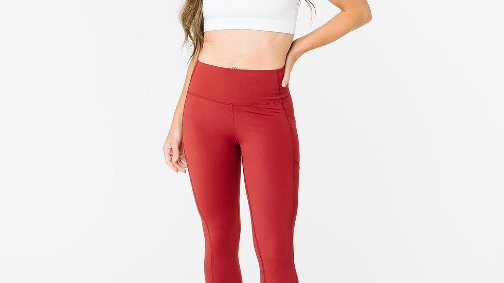 Red Pocket Brilliant Hi Rise Capri 20'