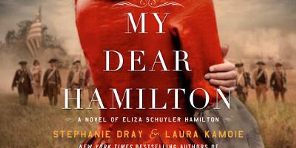 "BlueRose Book Club-""My Dear Hamilton""-April book"