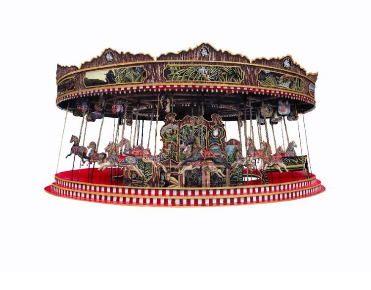 Carousel by Benjamin Thomas Taylor