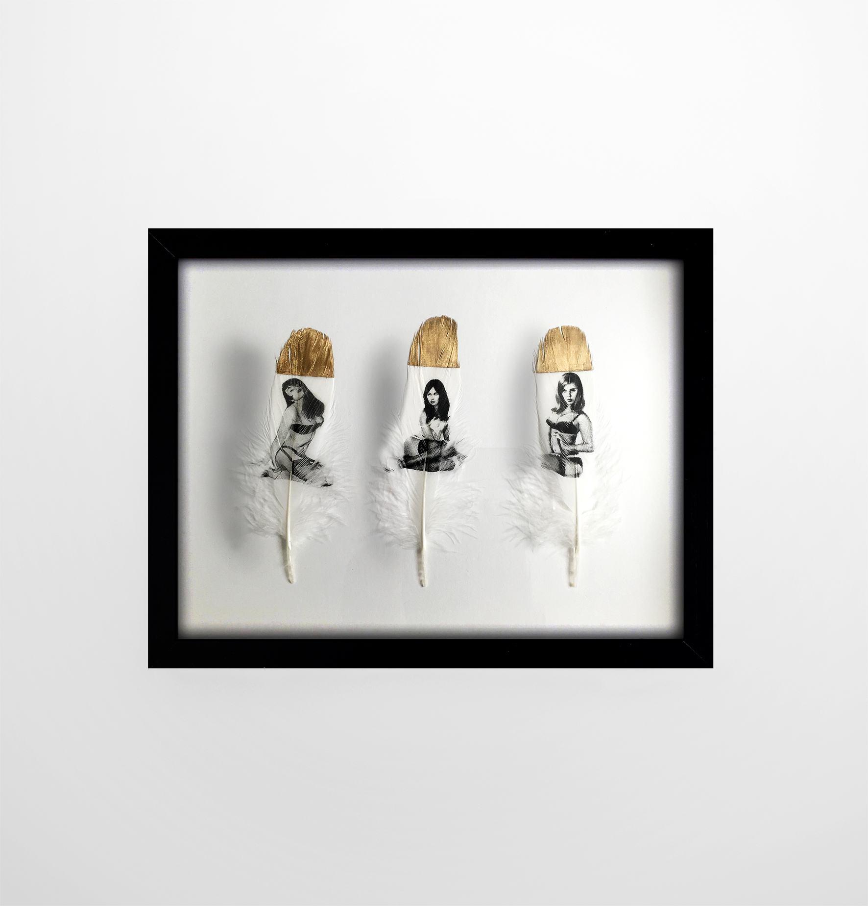 Femme Fatales  Gold framed small.jpg
