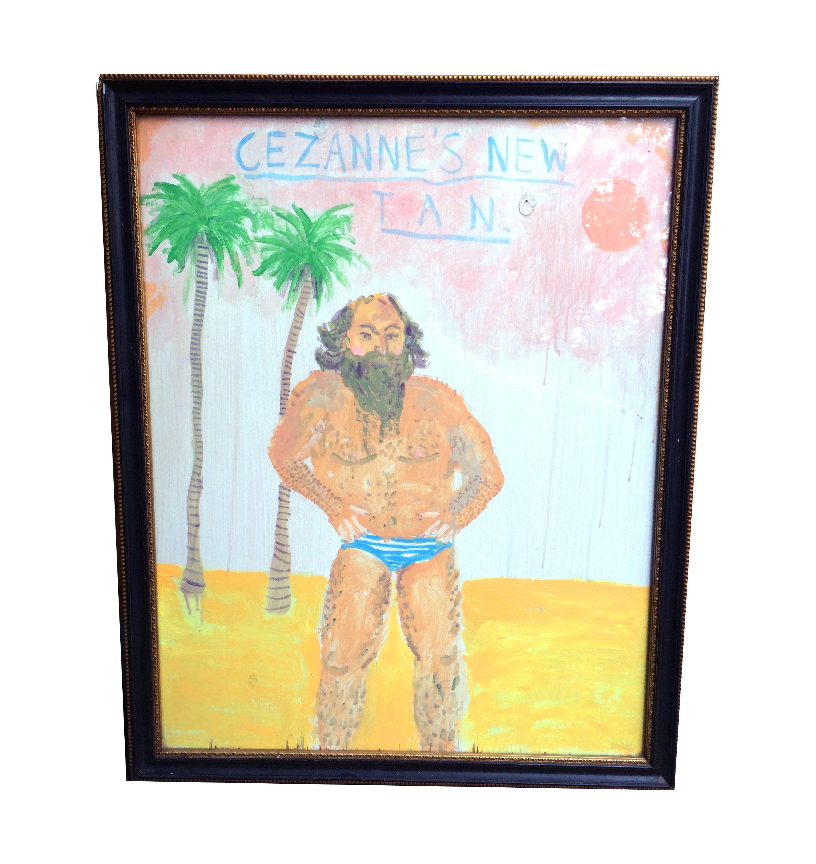 Cezanne's New Tan. 66 x 54 cm