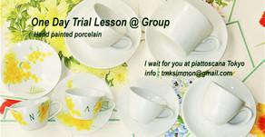 団体様向け「体験レッスン」を常設致します:1day trial lesson @ group