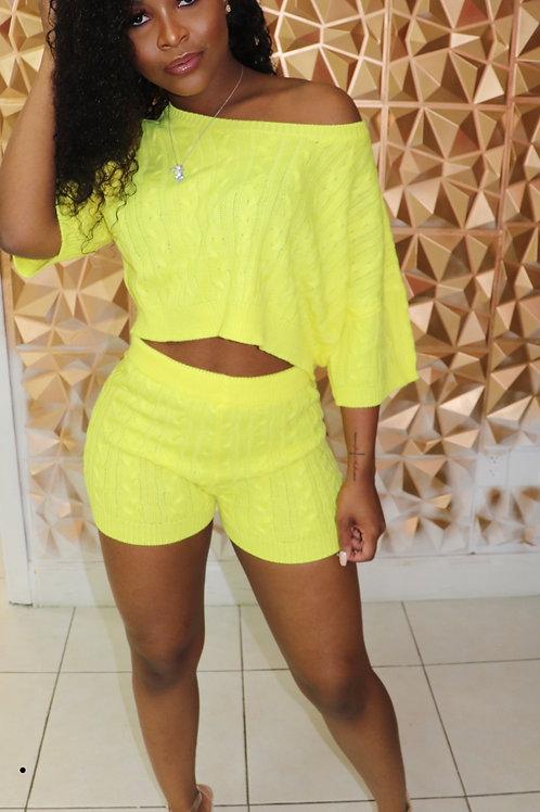 Minnie Set- Yellow
