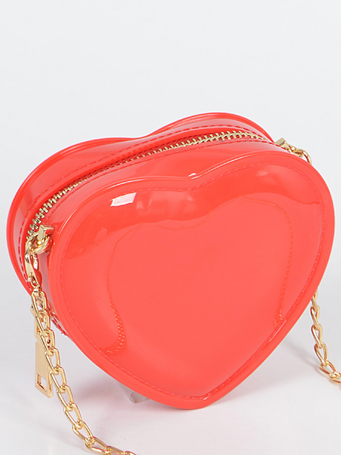 Jelly Heart Mini Bag