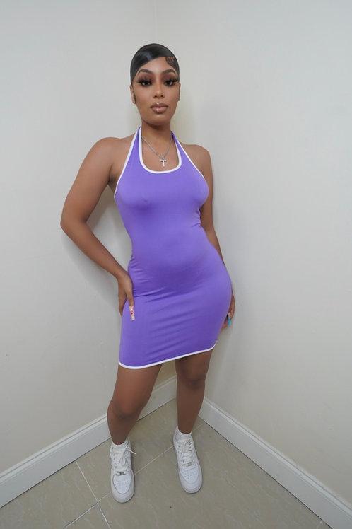 Chloe Dress (Violet)