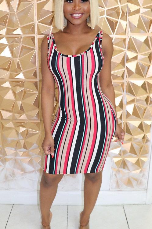 Tina Dress -Red