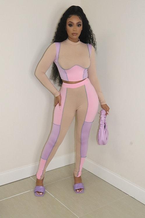 Gianna Set (Pink/Lavender