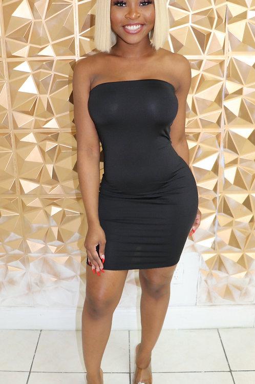 Shamay Dress-Black