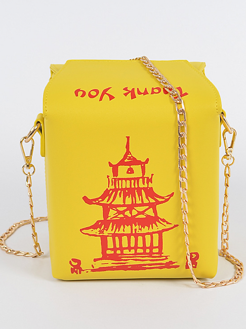 Take Out Bag (Yellow/Red)