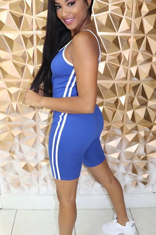 Kayla romper-Blue