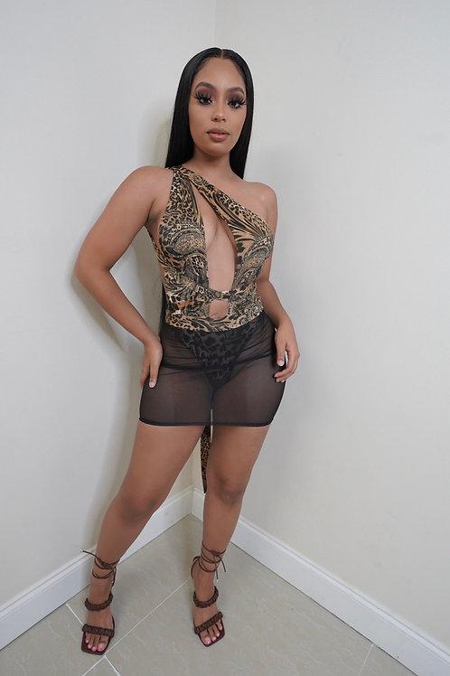 Kelly Dress (Cheetah)