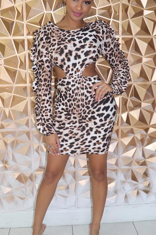 Donna Leopard Dress