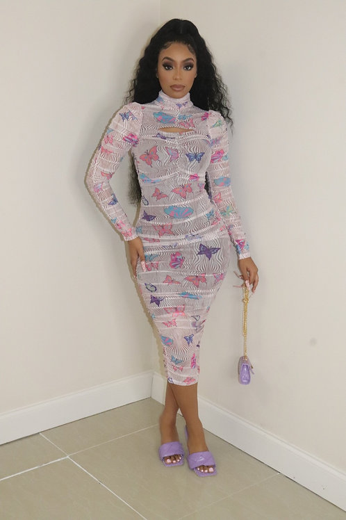 Tia Butterfly Dress