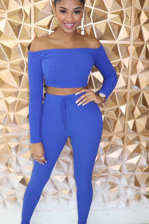 Donna Set-Royal Blue