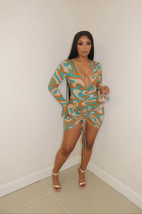 Sashi Swirl Dress