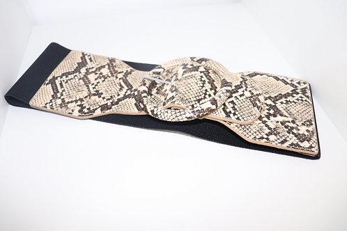 Brown Snake Waist Belt