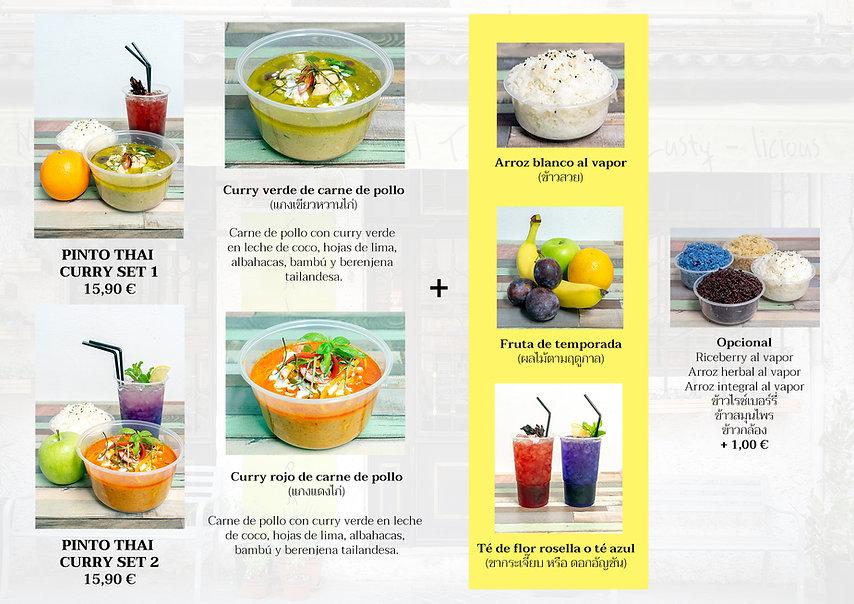 Soup combo menu