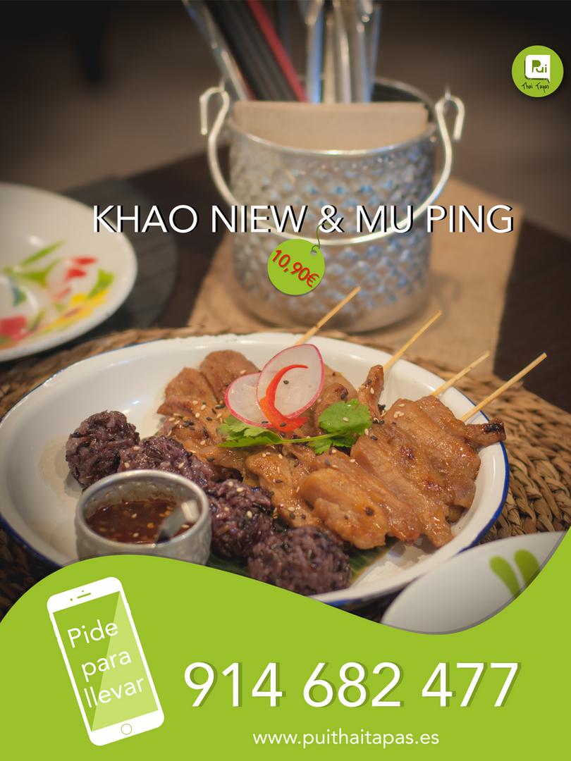 Khao Niew & Mu Ping__Take away