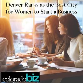 Denver Ranks as the Best City for Women