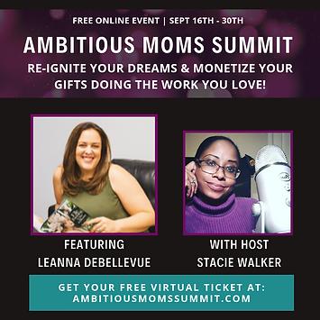 Leanna DeBellevue - Ambitious Moms Summi