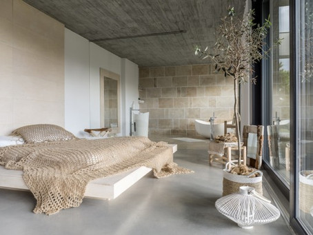 TURNING A BEDROOM INTO A LUX BEDROOM :