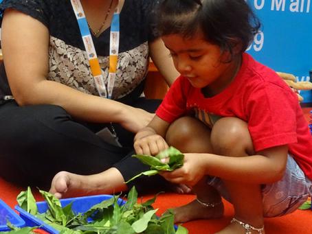Simple home activities for children