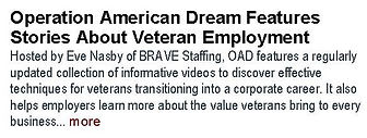 Operation American Dream Features Storie