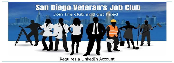 San Diego Veterans Job Club (Requires Li