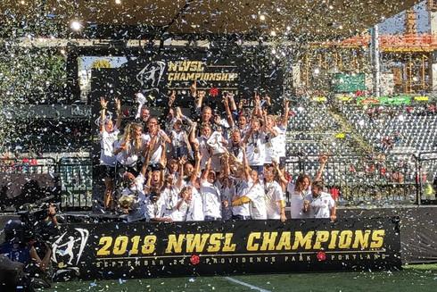 NWSL Championship - NC Courage 2018 Cham
