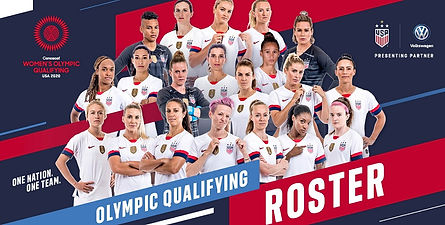 Women's Olympic Qualifying Team USA 2020