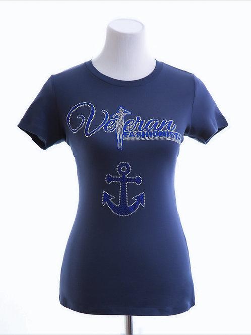 VF & Anchor (Navy Blue)