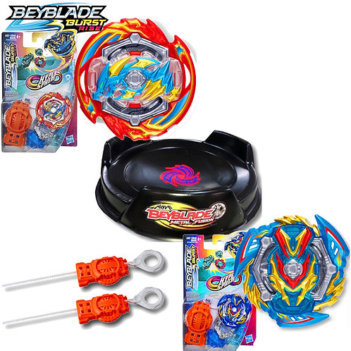 Beyblade Hypersphere Ace Dragon vs Wonder Valtryek - Hasbro