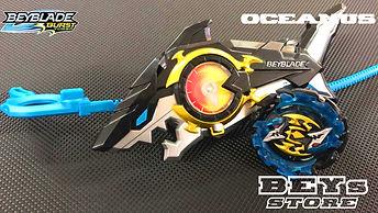Beyblade Beys Store Oceanus Fornus F4 - Hasbro
