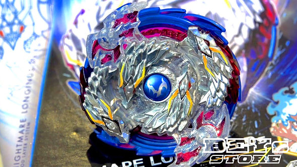 Beyblade Burst Starter B-97 Nightmare Longinus | Takara Tomy com Lançador