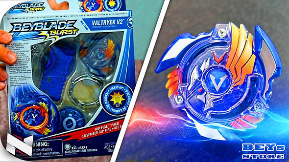 Beyblade Burst Valtryek  V2 Lançador Luz Led - Hasbro