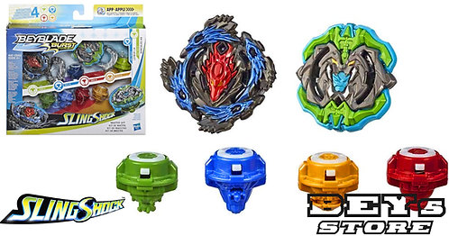 Beyblade Burst Turbo Slingshock Kit de Mestre - Hasbro