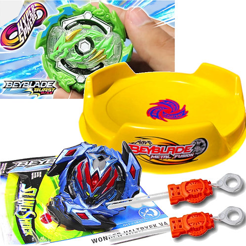 BEYBLADE Burst - Combo 10 - Wonder Waltryek vs Ace Dragon - Hasbro