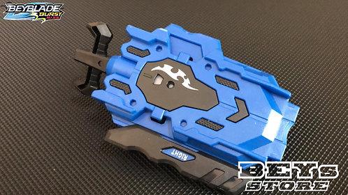 Lançador de Beyblade Corda  B-119 com Rotação Dupla | Azul
