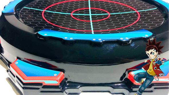 Arena batalha Beyblade BeyStadium Battle Turbo - Aiger