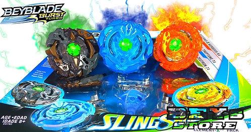 Beyblade Burst Slingshock Multipack Element-X - Hasbro