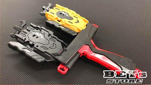 Beyblade Double Launcher Grip GoShoot - Vermelho
