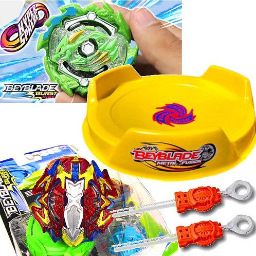BEYBLADE Burst - Combo 11 - Xcalius vs Ace Dragon - Hasbro
