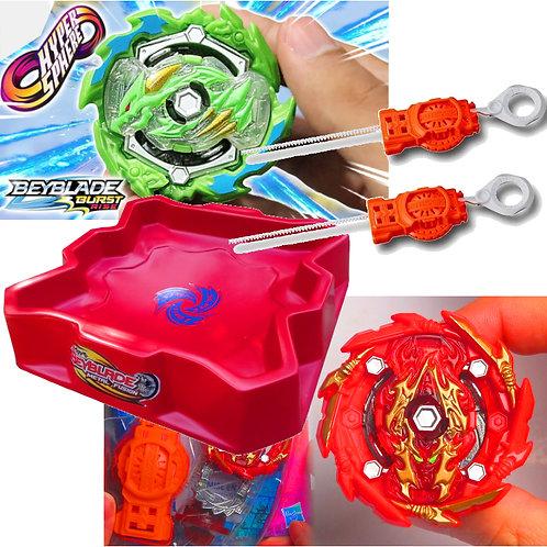 BEYBLADE Burst - Combo 14 - Ace Dragon vs Bushi Ashindra A5 - Hasbro