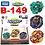 Thumbnail: Beyblade GT B-149 GT Triple Booster Set - Takara Tomy