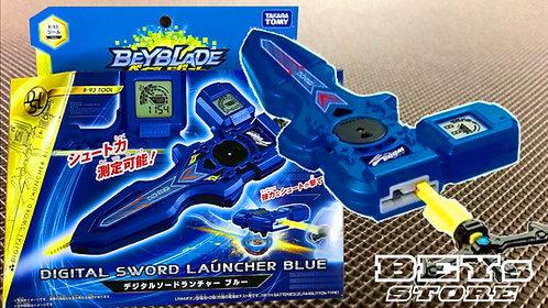 Lançador Beyblade Burst B-93 Digital AZUL - TakaraTomy