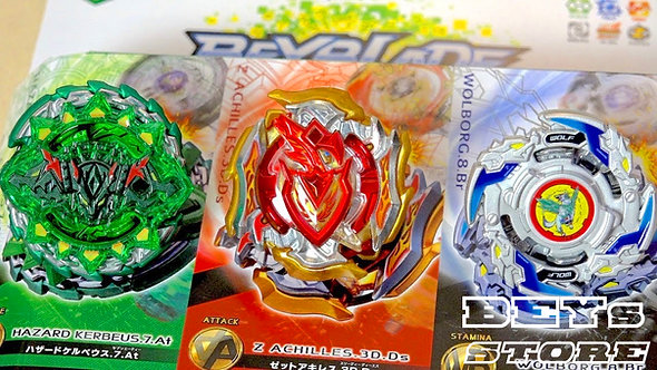 Beyblade Conjunto  Super Z Triplo Buster - Takara Tomy