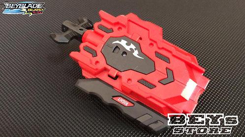 Lançador de Beyblade Corda B-88 com Rotação Dupla | Vermelho