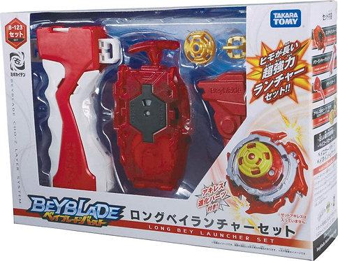 Beyblade Burst Z B-123 Takara Tomy Bey launcher Longo