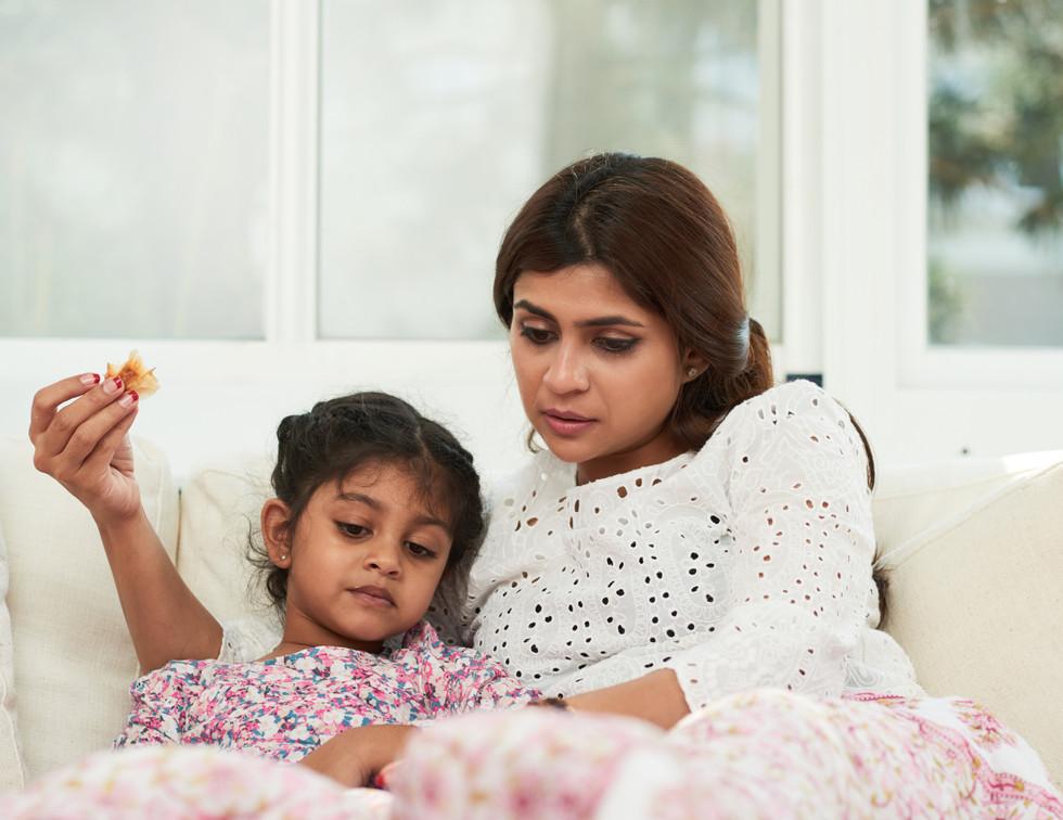 Diabetes Women feeding child
